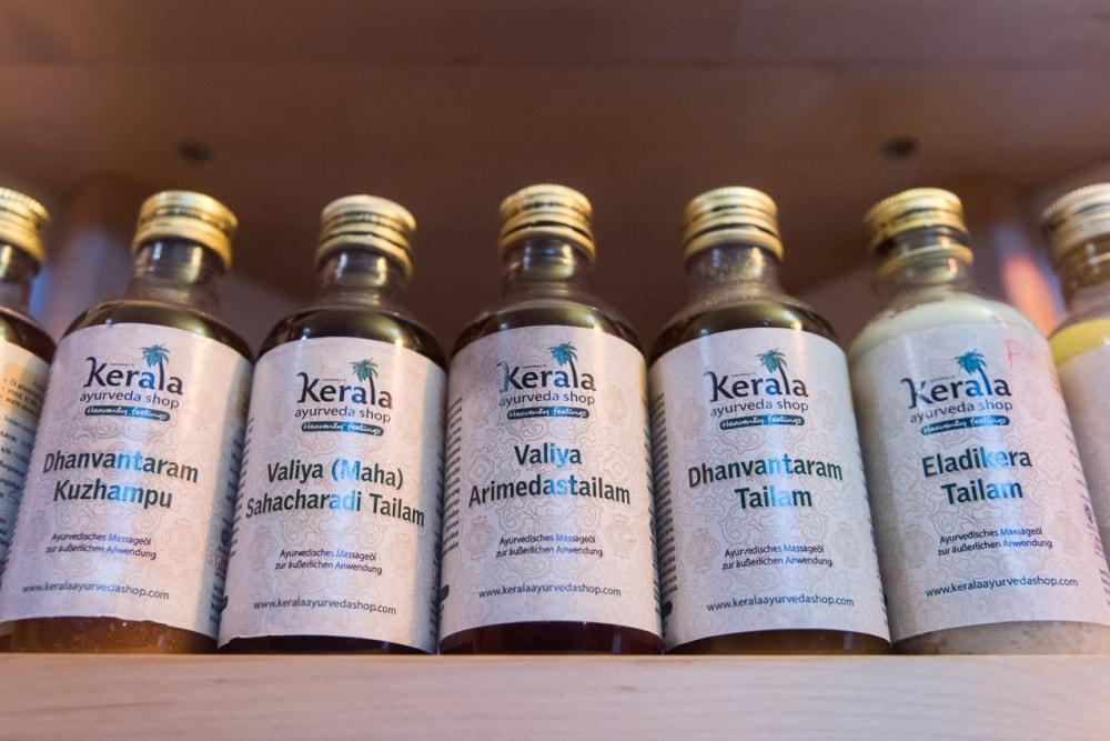 Massages aux huiles ayurvédiques